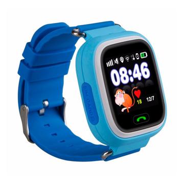 Изображение Детские часы с GPS SMART BABY WATCH 100 (Q90) Голубые