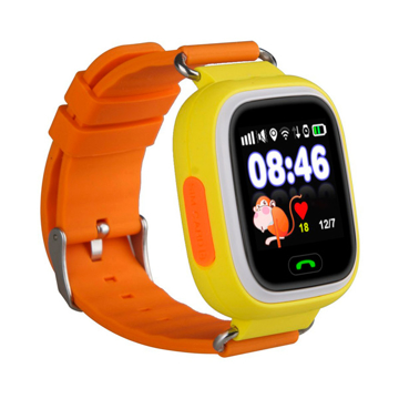 Изображение Детские часы с GPS SMART BABY WATCH 100 (Q90) Желтые