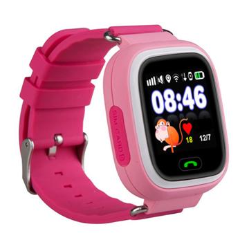 Изображение Детские часы с GPS SMART BABY WATCH 100 (Q90) Розовые