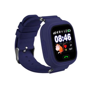 Изображение Детские часы с GPS SMART BABY WATCH 100 (Q90) Темно-Синие