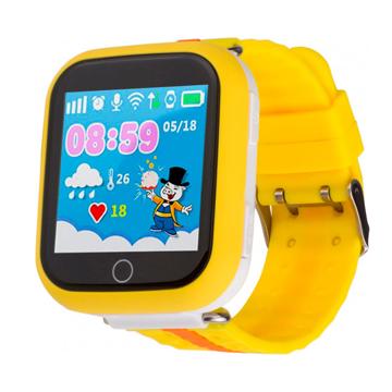 Изображение Детские часы с GPS SMART BABY WATCH Q100S Желтые
