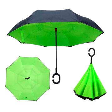 Изображение Зонт обратного сложения Up-brella Зеленый №48