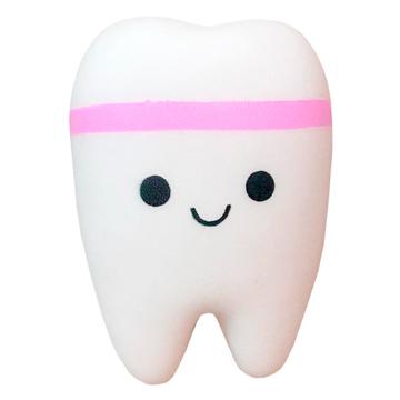 Изображение Мягкая игрушка антистресс Сквиши Squishy Зуб с запахом №35