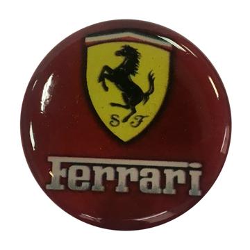 """Изображение Попсокет PopSocket 3D """"Ferrari"""" №5 - Держатель для телефона Поп Сокет в блистере с липучкой 3М"""