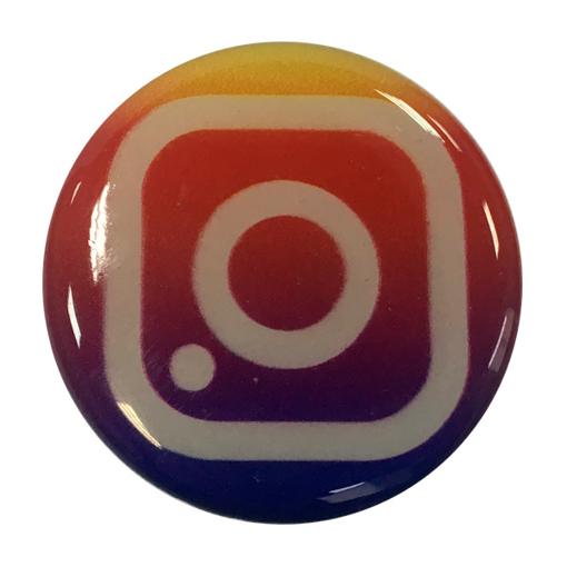 """Изображение Попсокет PopSocket 3D """"Инстаграм"""" №24 - Держатель для телефона Поп Сокет в блистере с липучкой 3М"""
