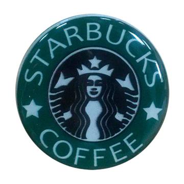 """Изображение Попсокет PopSocket 3D """"Starbucks Coffee"""" №39 - Держатель для телефона Поп Сокет в блистере с липучкой 3М"""