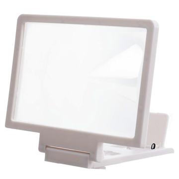 Изображение 3D Подставка-увеличитель экрана для смартфона Белый