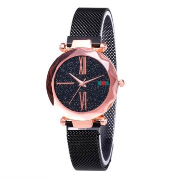 Изображение Женские часы Starry Sky Watch на магнитной застёжке Черные