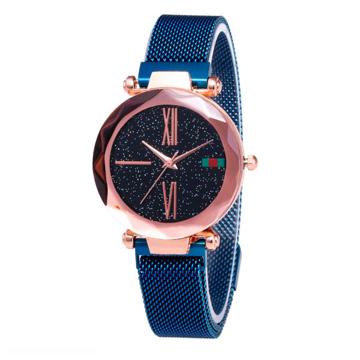 Изображение Женские часы Starry Sky Watch на магнитной застёжке Синие