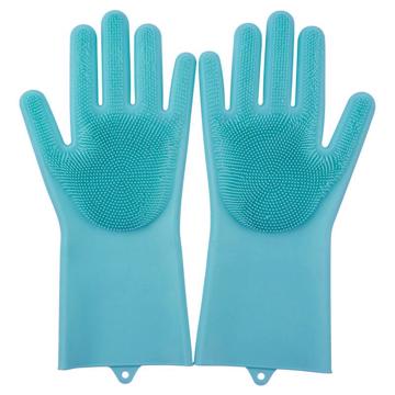 Изображение Силиконовые многофункциональные кухонные перчатки для мытья посуды, чистки и уборки Magic Silicone Gloves